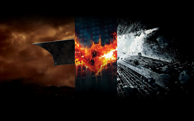 The Dark Knight Trilogy Elemental Bat Symbols