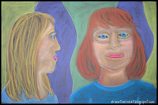 Draw Line Georges Rouault Portraits
