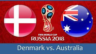 مشاهدة مباراة الدنمارك و أستراليا في كأس العالم 2018 بتاريخ 21-06-2018