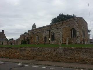 An English country church - no spire (as ironically it has fallen down centuries ago)