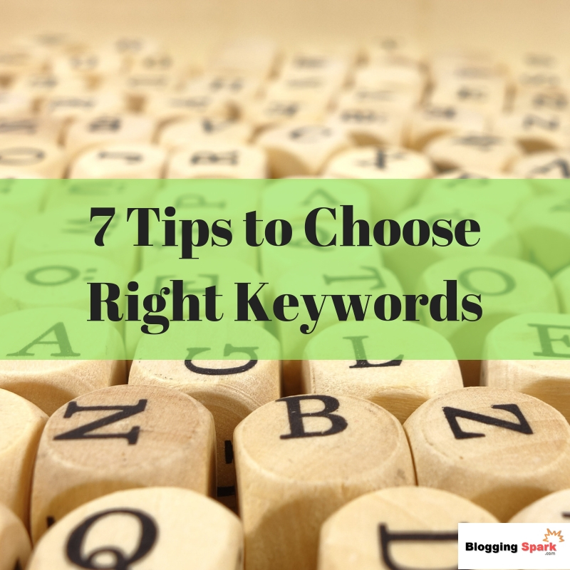 Tips to choose right keywords