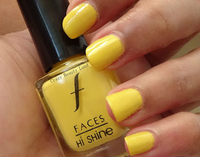 Favorite Summer Pastel Nail Polish Colors Recommendations Lemon Fizz by Faces