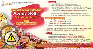 Lomba Desain Poster Awas GGL! by GKIA Indonesia Hadiah Total 2 Juta