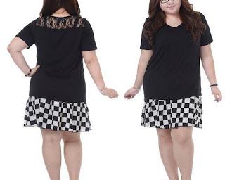 model baju untuk orang gemuk tinggi