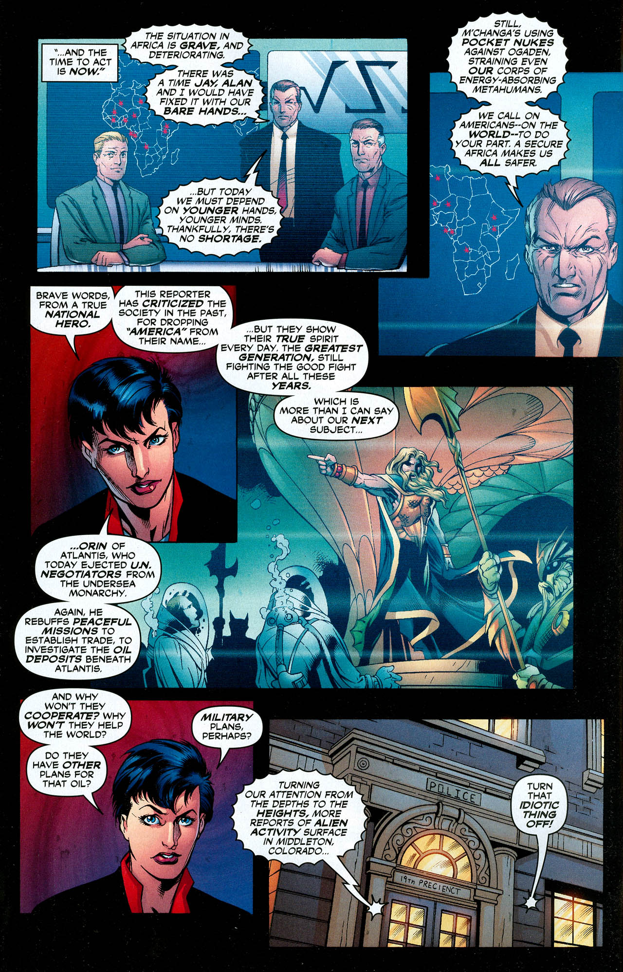 Read online Trinity (2008) comic -  Issue #18 - 5