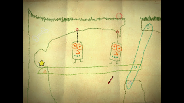 Screenshot from Crayon Physics Deluxe