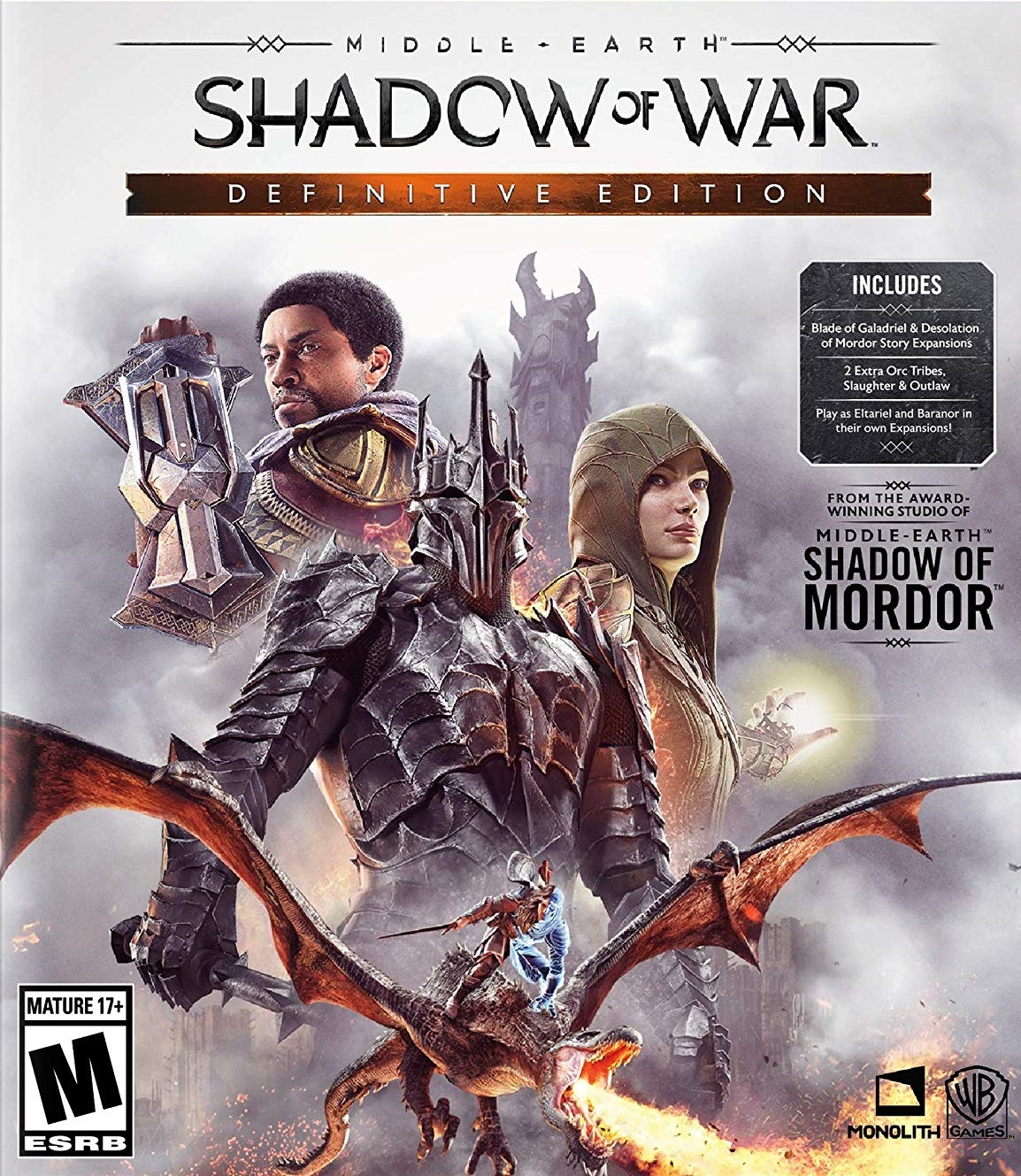 Descargar Middle Earth Shadow Of War Definitive Edition PC ESPAÑOL