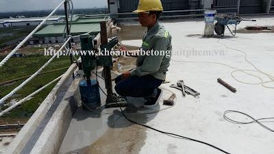 Khoan cắt bê tông tại huyện Bù Đăng
