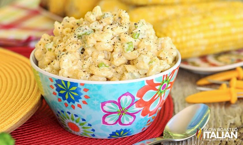 http://theslowroasteditalian-printablerecipe.blogspot.com/2014/06/southern-style-macaroni-salad.html
