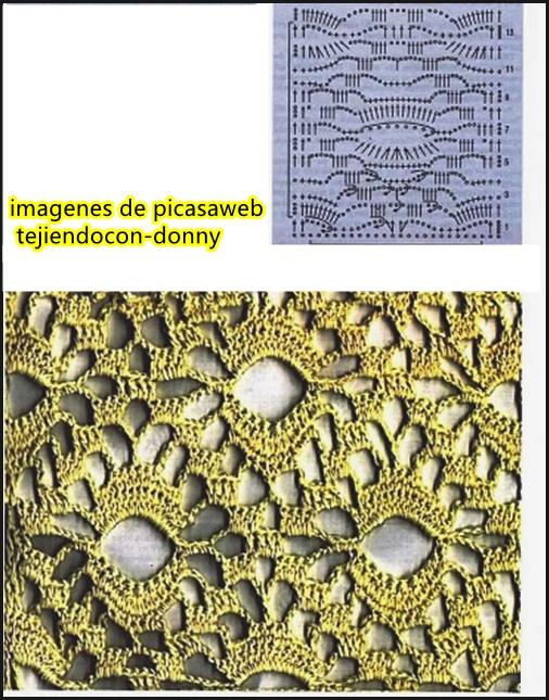Popolare PATRONES - CROCHET - GANCHILLO - GRAFICOS: MAS DE 1000 PUNTOS PARA  VV18