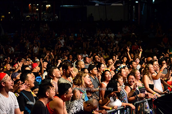 Crowd Photos Rainforest World Music Festival 2017