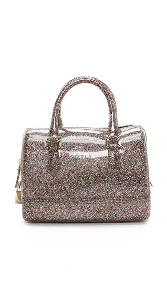 Furla candy cookie mini bag glitter