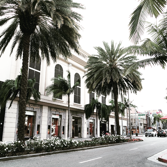 Rodeo Drive Shopping Los Angeles