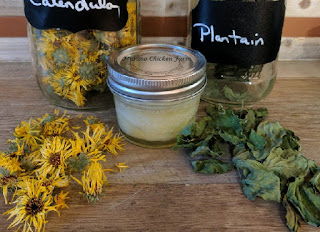 Herbal salve for frostbite