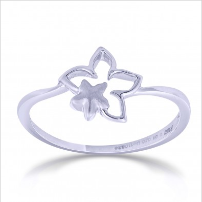 Platinum Love Bands below Rs. 20000 Design Code : SJ PTO 224