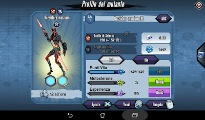 Mutants: Genetic Gladiators video N°373 Fusion Martian Marauder - Fusione Razziatore Marziano