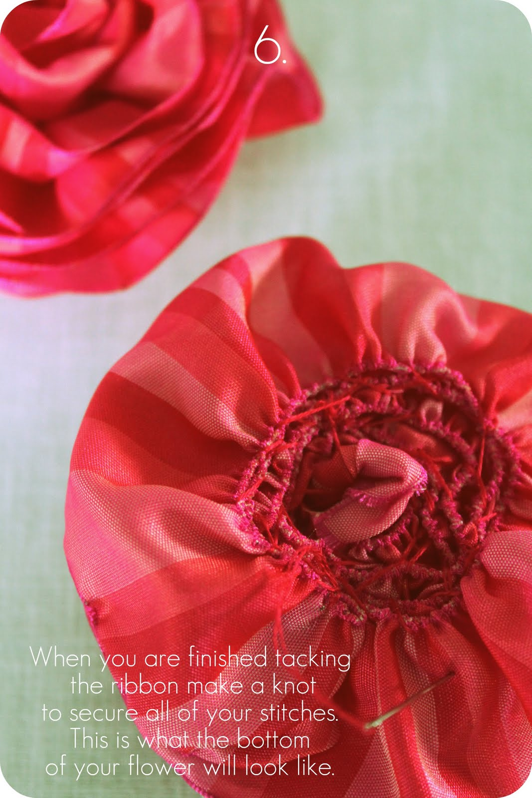 Pulled Wire Ribbon Rose Tutorial Happenstance Home
