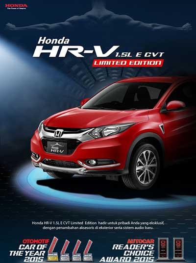 Honda HRV Bandung Limited Edition
