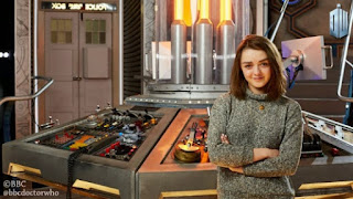 Maisie Williams rencontre le Docteur série game of thrones who news actu actualités