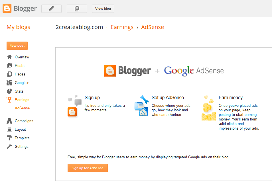 Make Money with a Blog for Beginners - 1 - Google AdSense