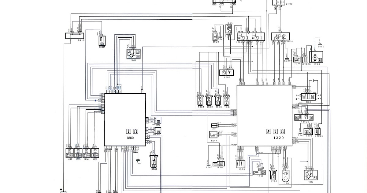 Auto Electrical Repairs: Automotive wiring maps of pejo