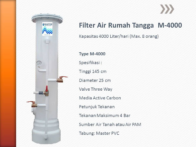 Filter Air Rumah Tangga M-4000