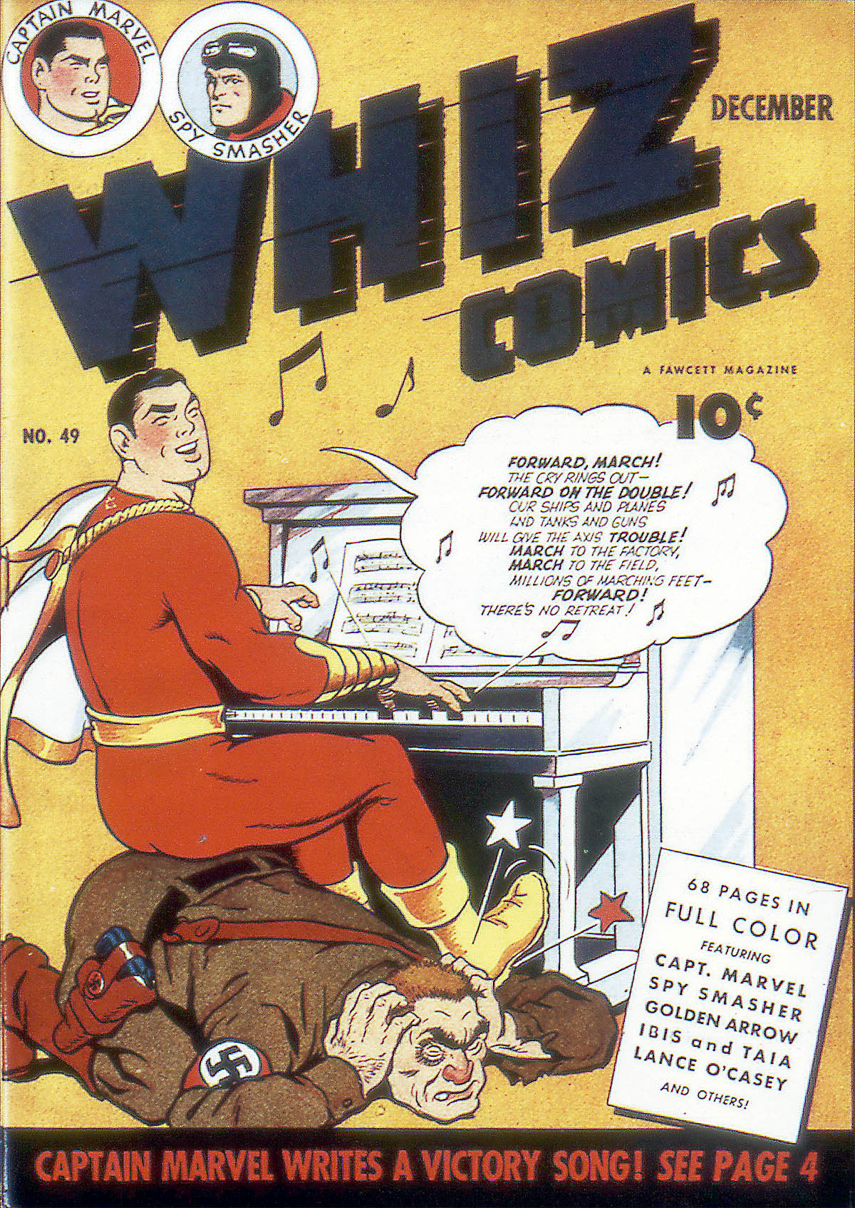 WHIZ Comics issue 49 - Page 1