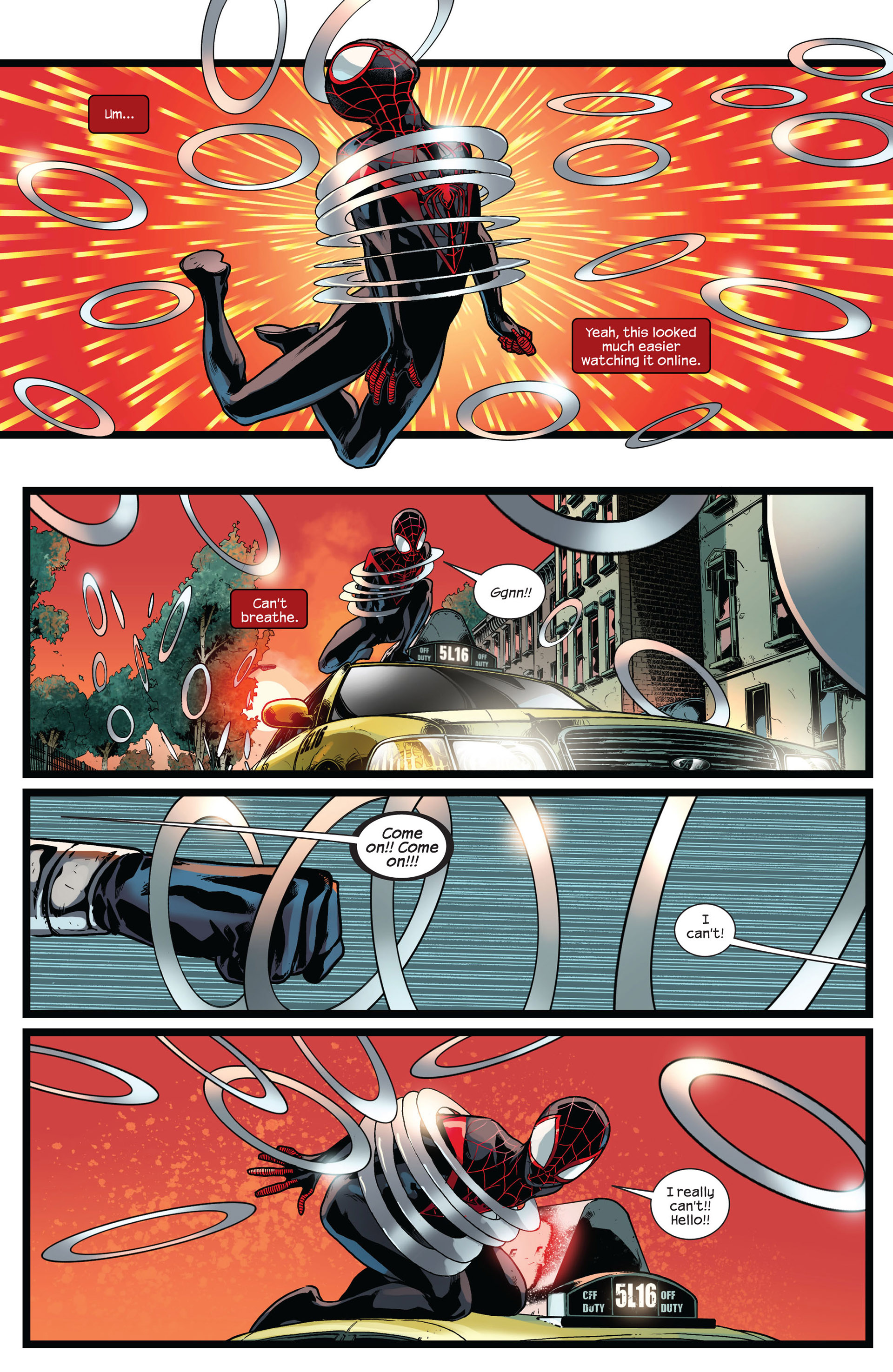 Read online Ultimate Comics Spider-Man (2011) comic -  Issue #8 - 20