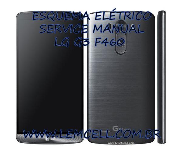 Esquema El U00e9trico Smartphone Celular Lg G3 F460 Lsk Manual