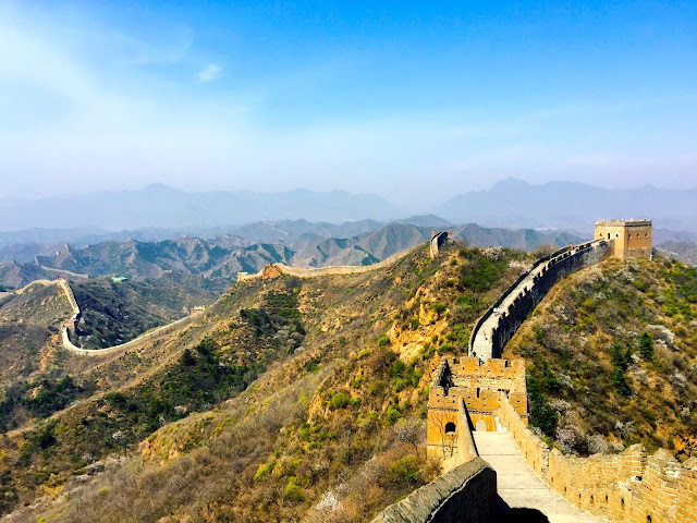 Jinshanling section of the Great Wall of China, near Beijing
