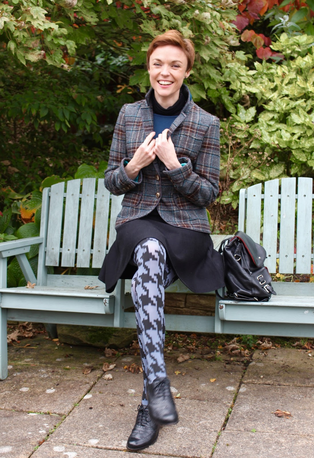 Heritage style, tweed and houndstooth | Fake fabulous