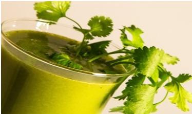 Cilantro drink