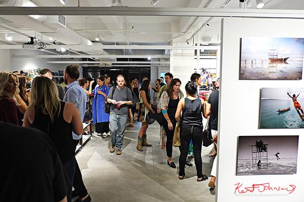 Art crowd, Kodak Ektra will present Stories of Change art opening. Street Fashion Sydney, New York Edition photographed by Kent Johnson.