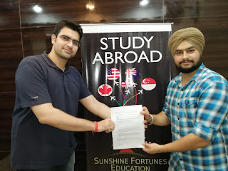 Gunjan Malhotra - Sunshine Fortunes Education - Study overseas consultants