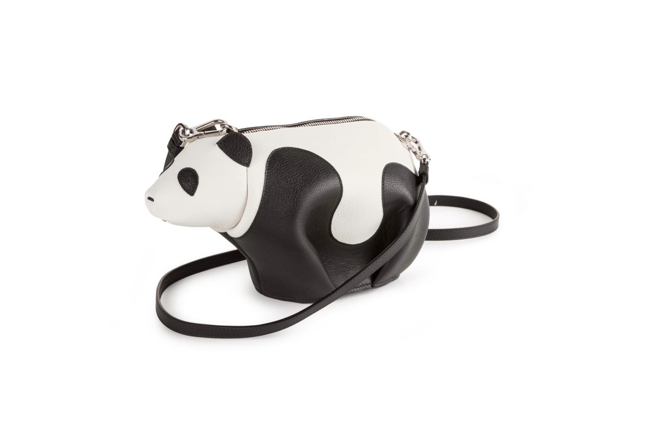 Loewe's Mini Panda Bag