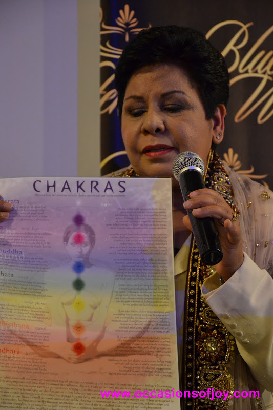Occasions of JOY: Ranjeet Kour Brings Chakra Massage to