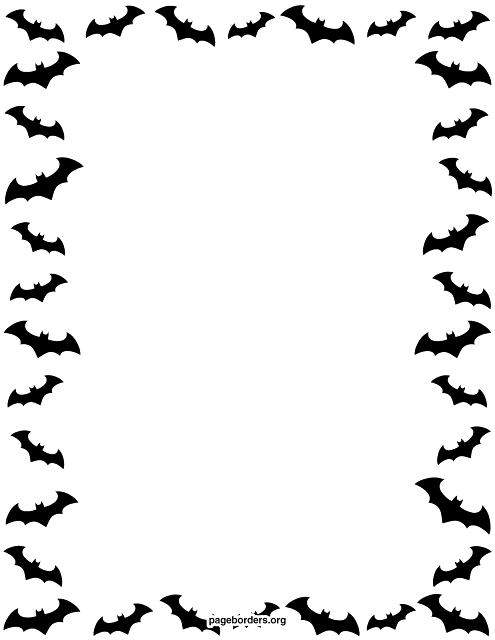 download free halloween border black and white png images