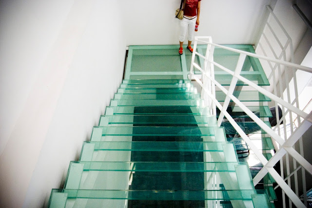 Glass stairs Glass in New York