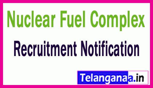 Nuclear Fuel Complex NFC Hyderabad Recruitment Notification