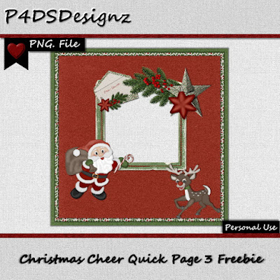 Christmas Cheer  Kit / QP Freebie