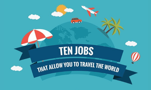 Ten Jobs That Allow You To Travel The World