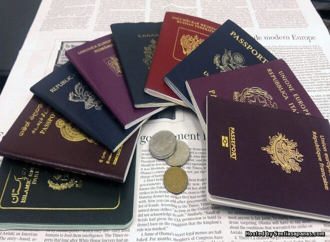 Maksud warna pasport