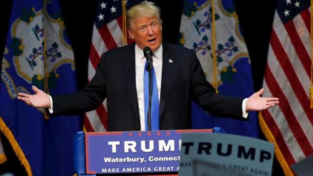 Trump acusa a medios de EEUU como culpables de su retroceso en encuestas tras Clinton