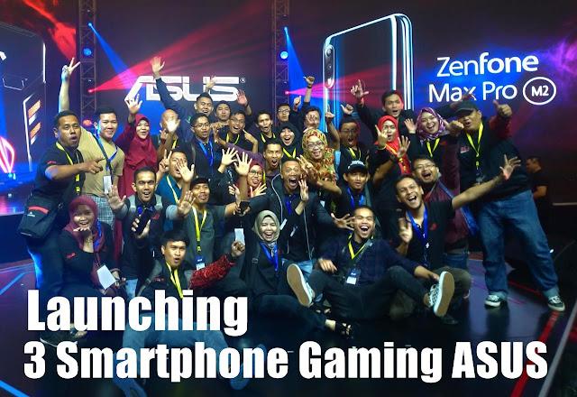 Launching Zenfone Max Pro M2