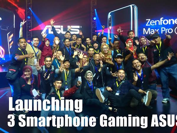 Launching 3 Smartphone Gaming Asus