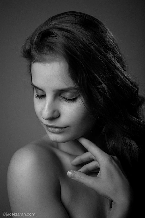 portret, fotografia portretowa, jacek taran, fotograf krakow, anna duk, fotografia artystyczna, portret kobiety
