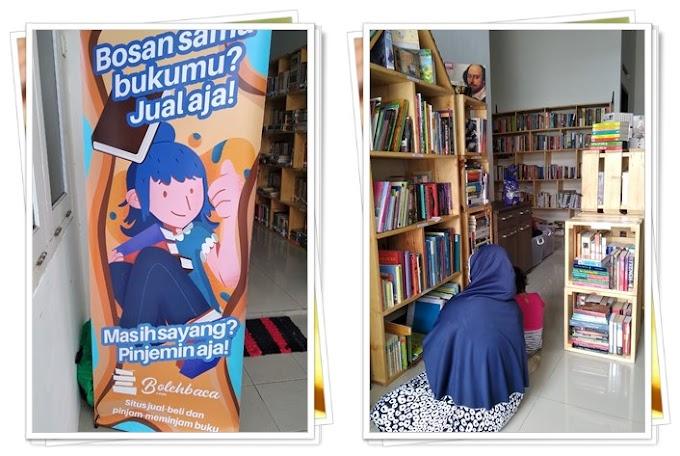Boba Library dan BolehBaca, Inovasi Baru Memberantas Buku Bajakan