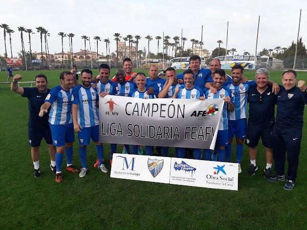 El Málaga CF Forever gana el campeonato de España