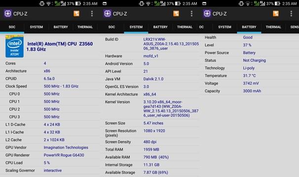 Smartphone ASUS Zenfone 2 ZE550ML, Performa Setara Notebook dengan Harga Terjangkau