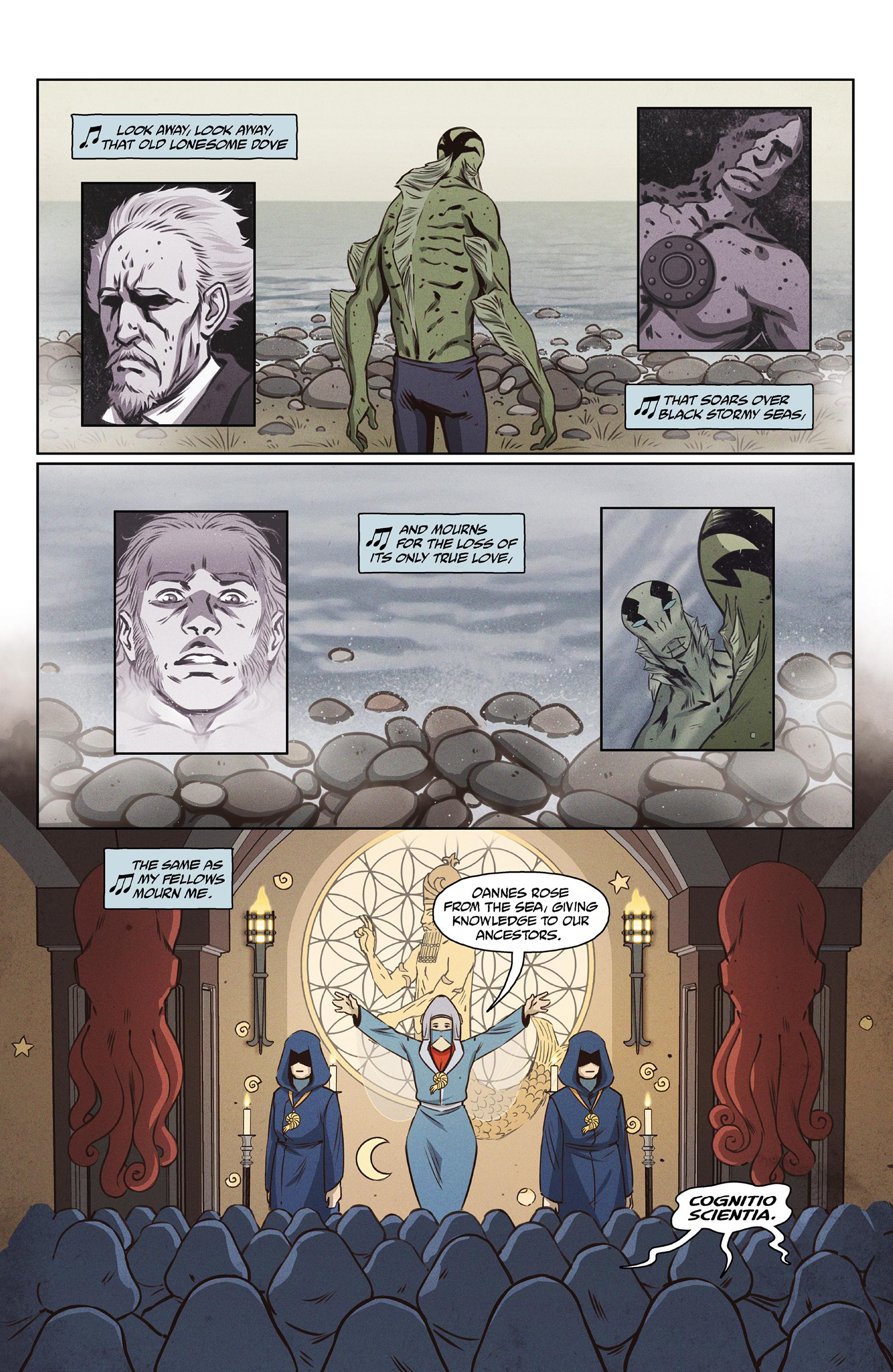 Read online Abe Sapien comic -  Issue #27 - 4